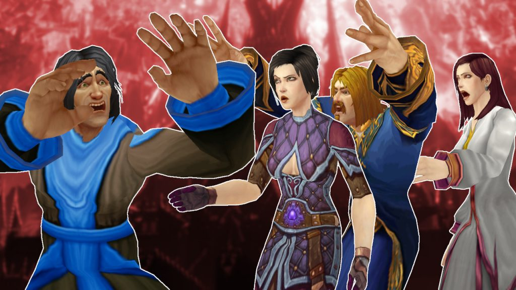 WoW GM Shock humans angry titel title 1280x720