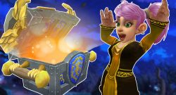 WoW Gnome Cheer chest loot titel title 1280x720