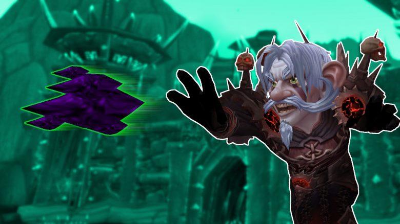 WoW Gnome Warlock Casting a Bolt titel title 1280x720