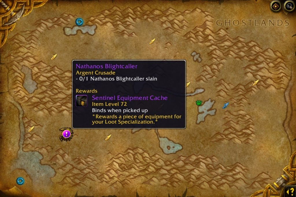 WoW Nathanos Quest