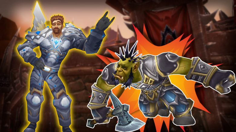 WoW Paladin Orc Death Explosion titel title 1280x720
