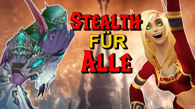 WoW Stealth fuer alle title title 1280x720