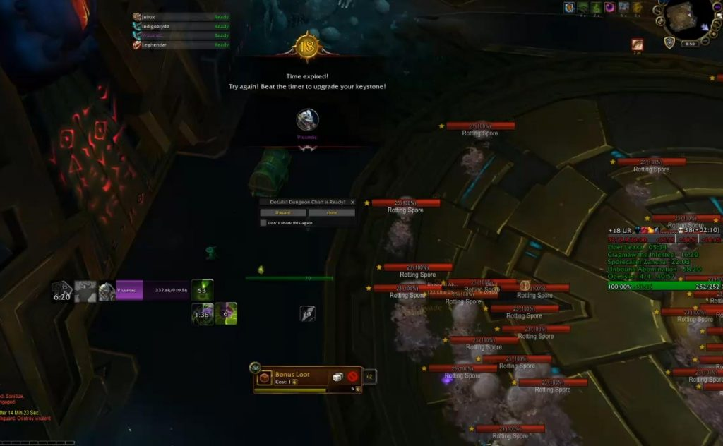 WoW Vruumsc Demon Hunter Solo Underrot