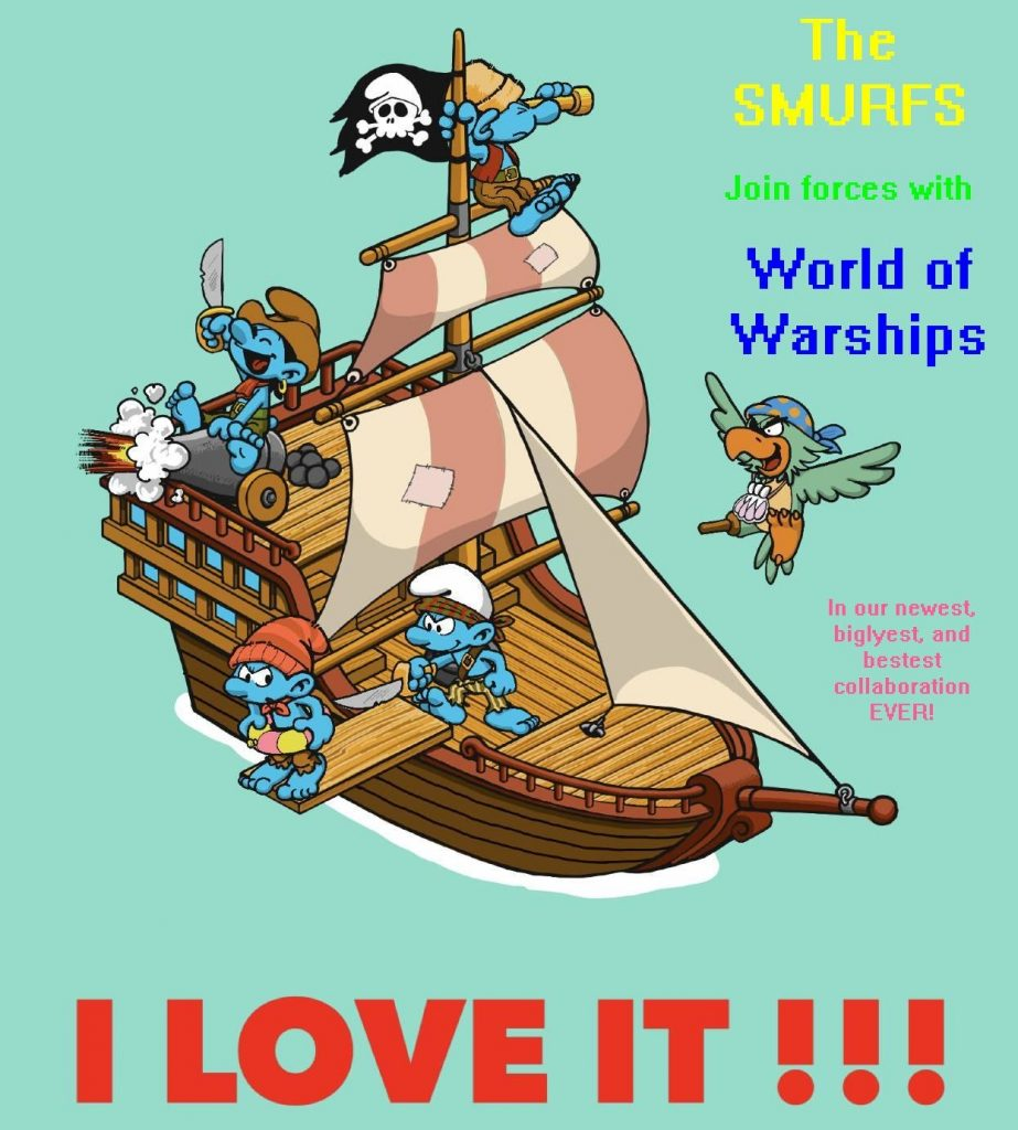 World of Warships Transformers Meme Schlümpfe