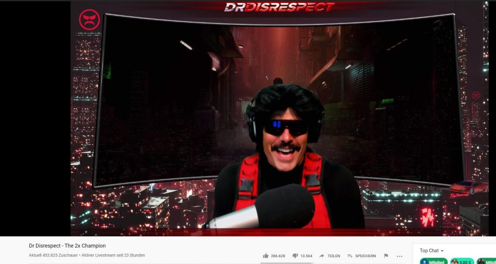 YouTube-Dr-Disrespect