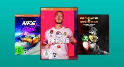 Amazon Angebote: FIFA 20 & Command & Conquer Keys reduziert