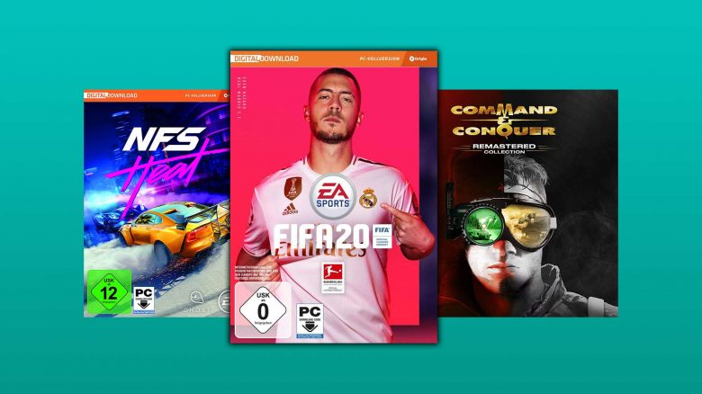 Amazon Angebote: FIFA 20 & Command & Conquer Keys reduziert