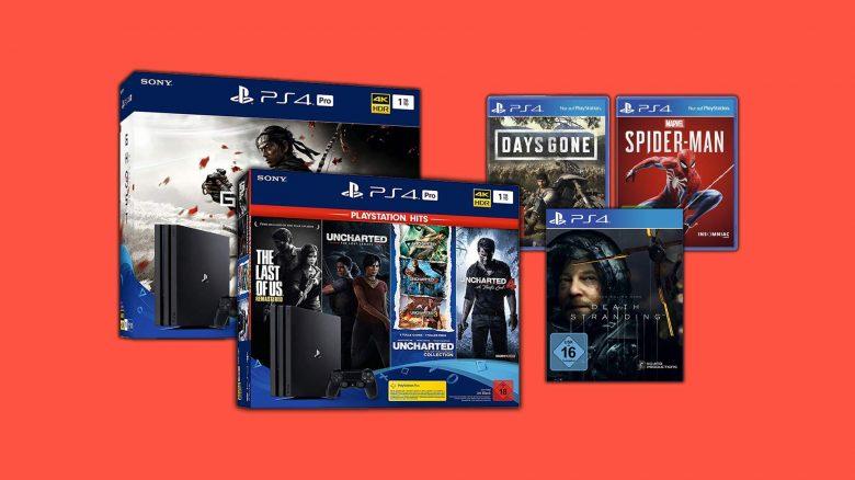 Top-Angebote bei Amazon: PS4 Pro & Spiele stark reduziert