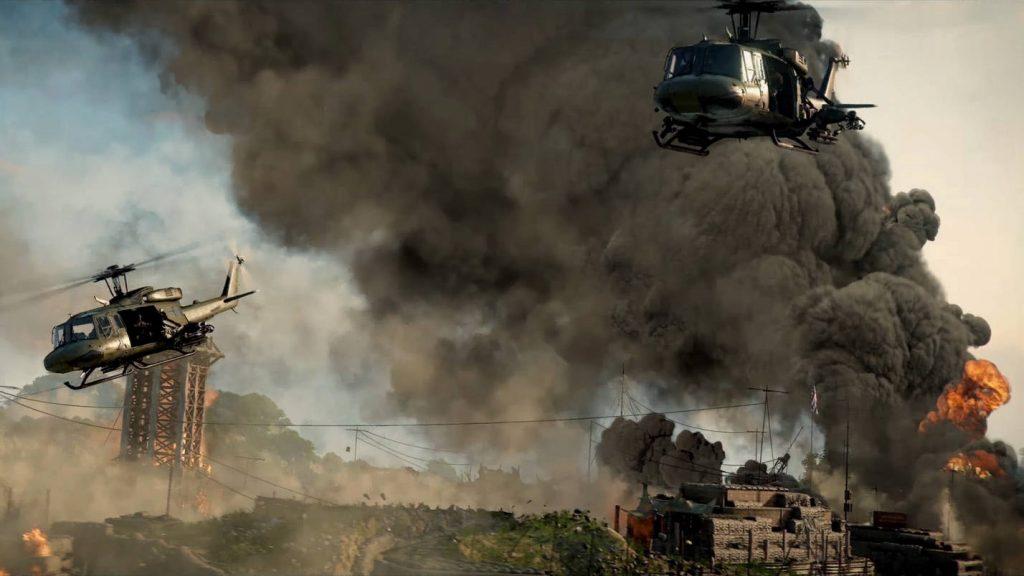 cod black ops cold war warzone trailer helis