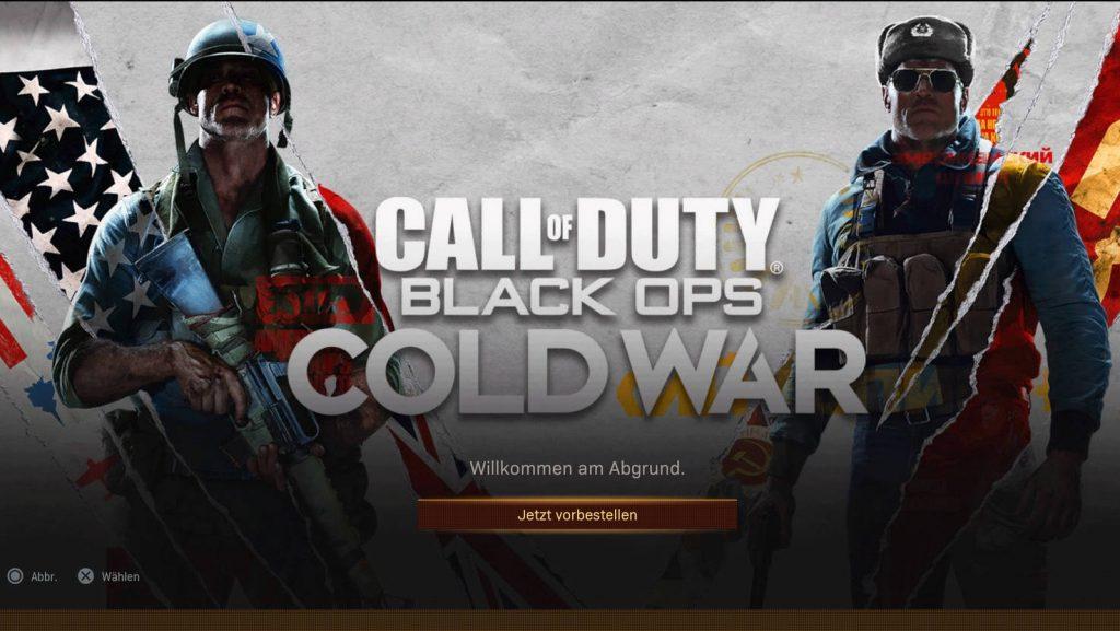 cod black ops cold war warzone trailer vorbestellung