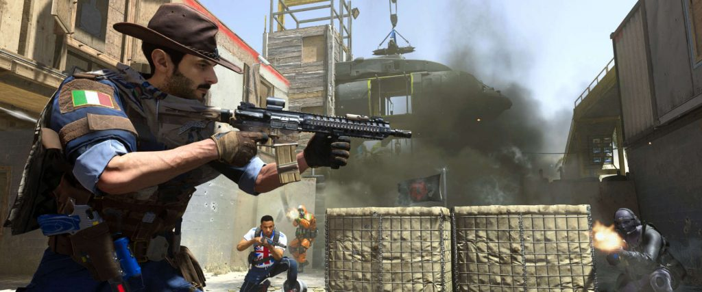 cod modern warfare shoot the ship playlist