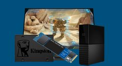 WQHD-Gaming-Monitor, SSDs und externe HDDs bei Cyberport reduziert
