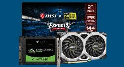 Günstige SSD, MSI Gaming-Monitor zum Bestpreis & mehr bei Cyberport