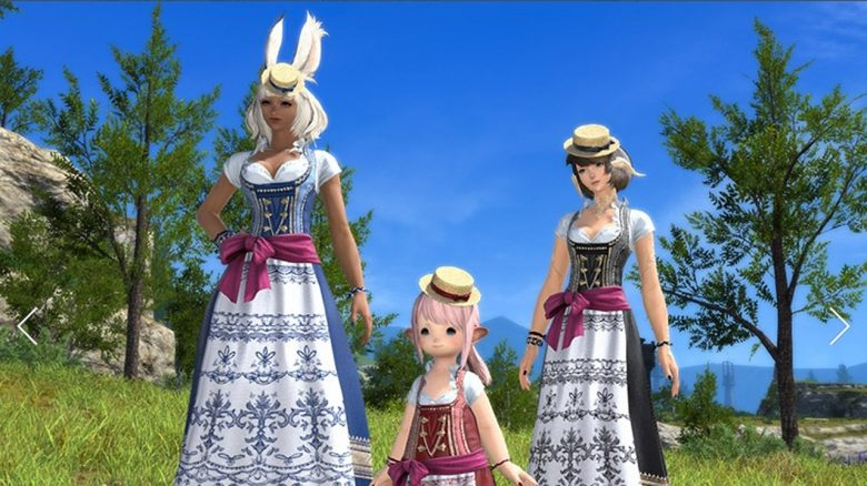final fantasy xiv dirndl header