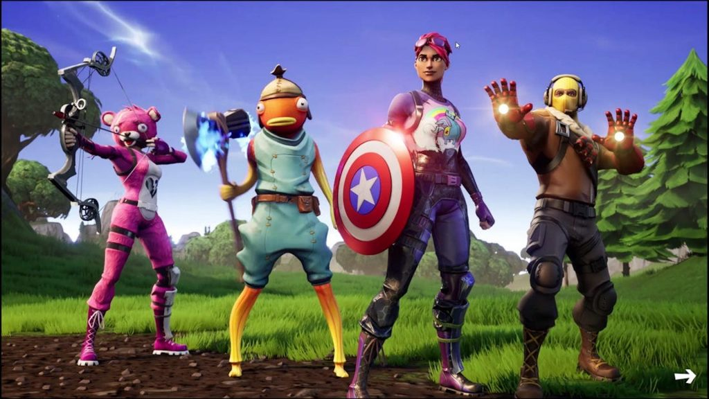 fortnite marvel titel