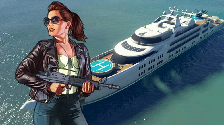 gta yacht update titel