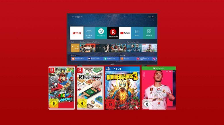 MediaMarkt Angebote: PS4- & Switch-Spiele, 4K TV zum Bestpreis