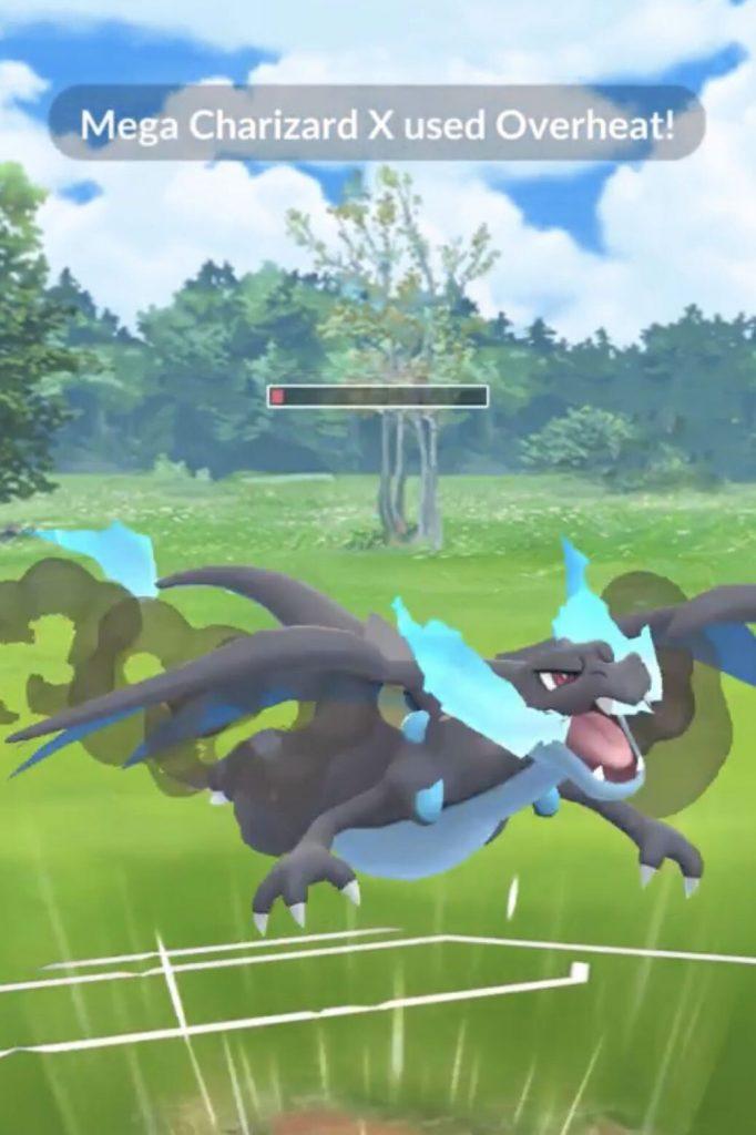 Pokémon GO Mega Glurak X