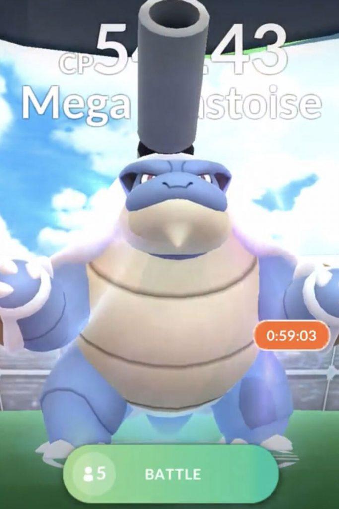 Pokémon GO Mega Turtok