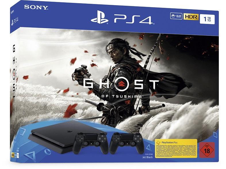 PS4 Slim Bundle mit Ghost of Tsushima