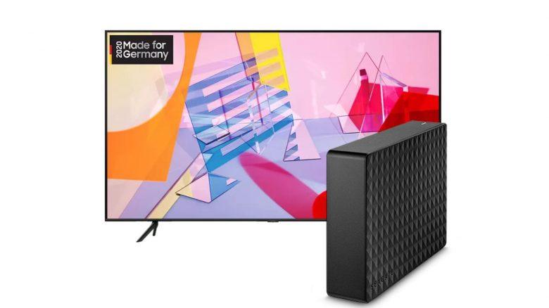 Samsung QLED-TV, externe Festplatte und mehr bei Saturn reduziert