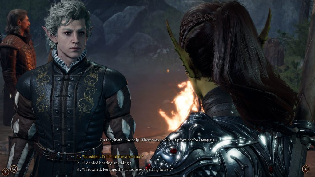 Baldurs Gate 3 Dialog