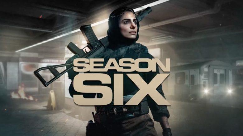 CoD MW Warzone season 6 title