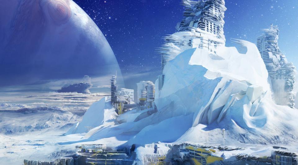 Destiny 2 Europa Concept