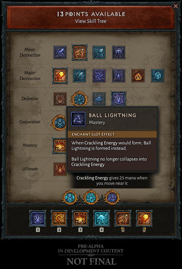 Diablo 4 Skill Zauberin