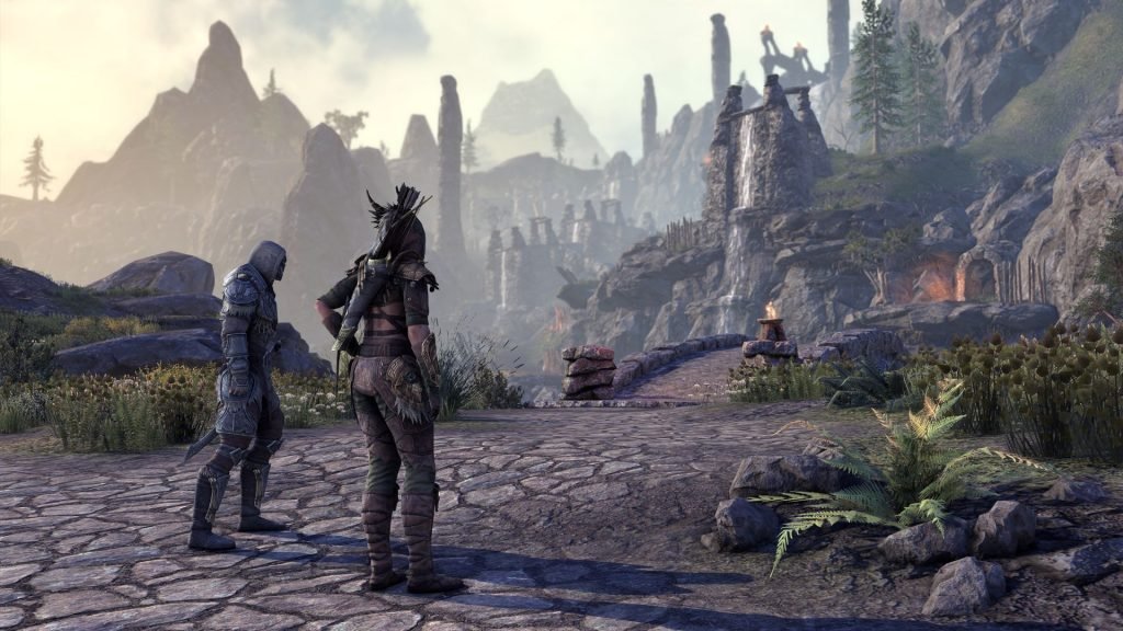 ESO Markarth_The Reach Waterfalls