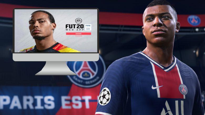 FIFA 21 FIFA 20 Web App weg