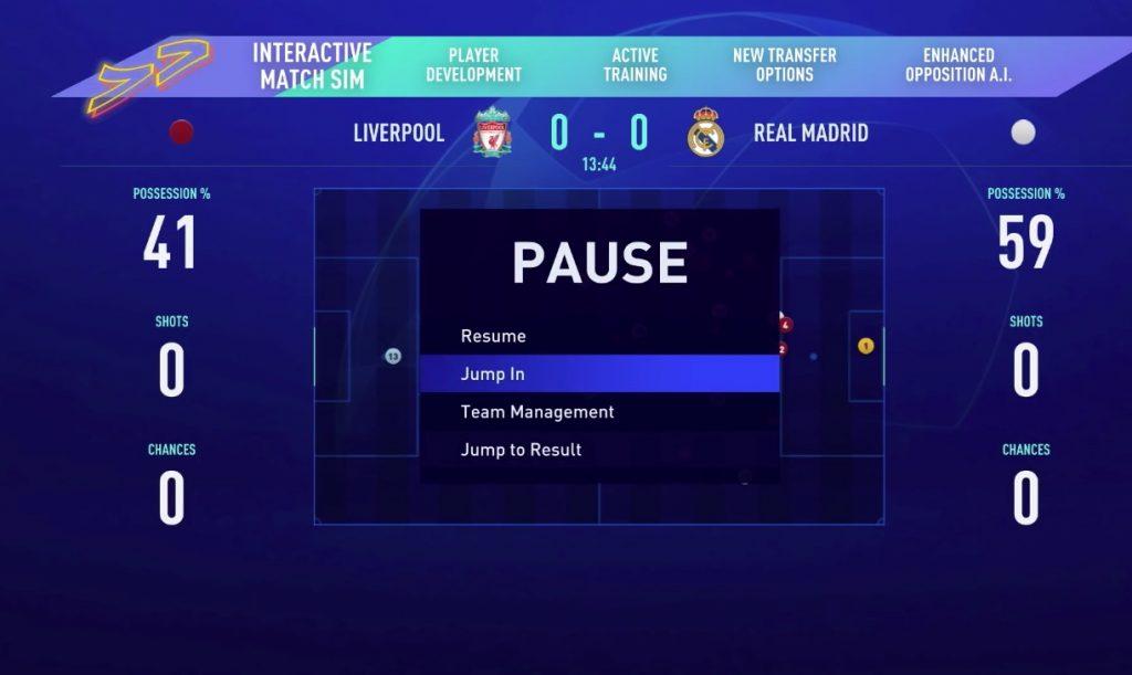FIFA 21 Karrieremodus