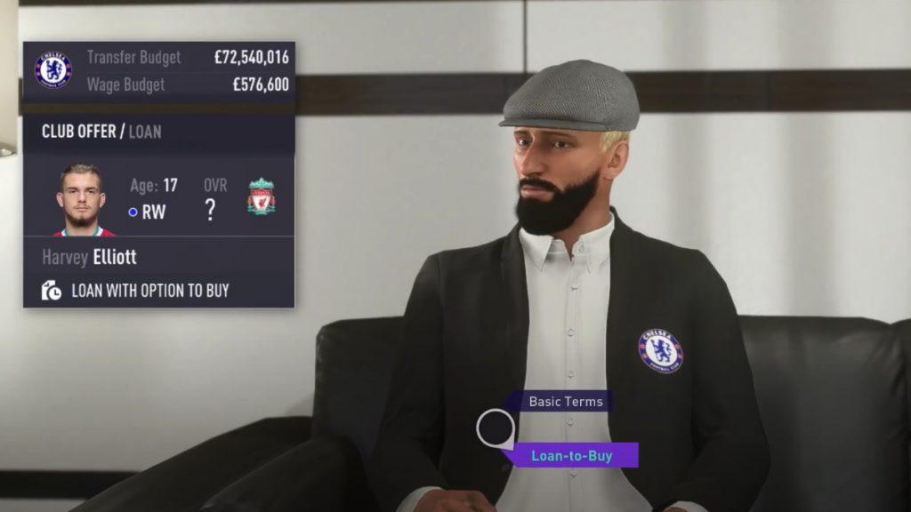 FIFA 21 Karriere Verhandlung