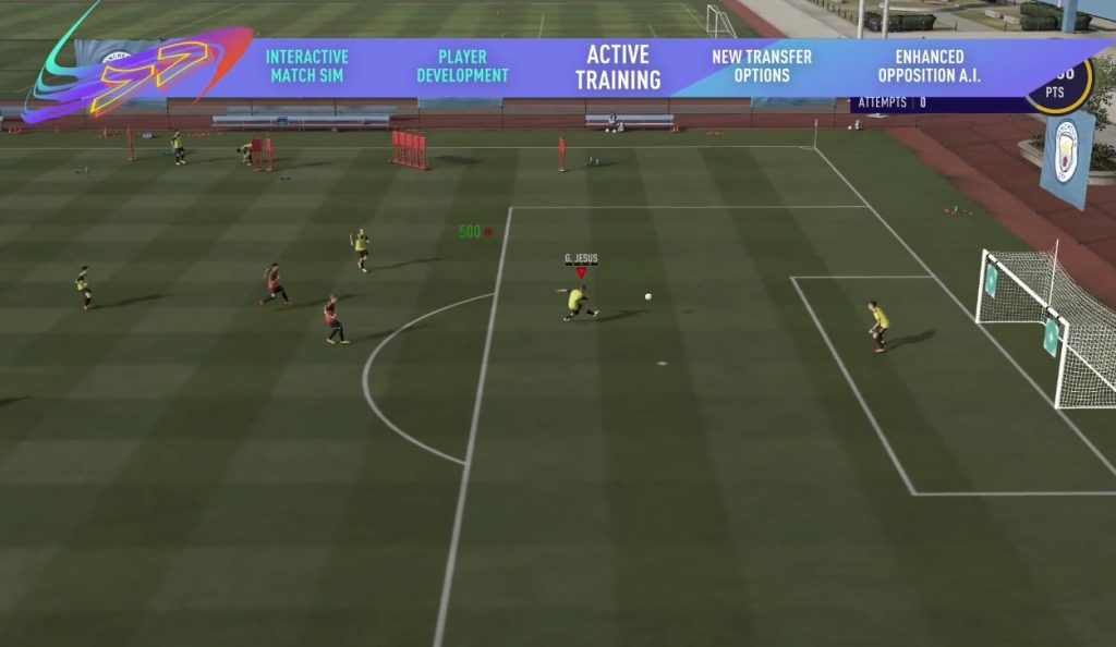 FIFA 21 Training