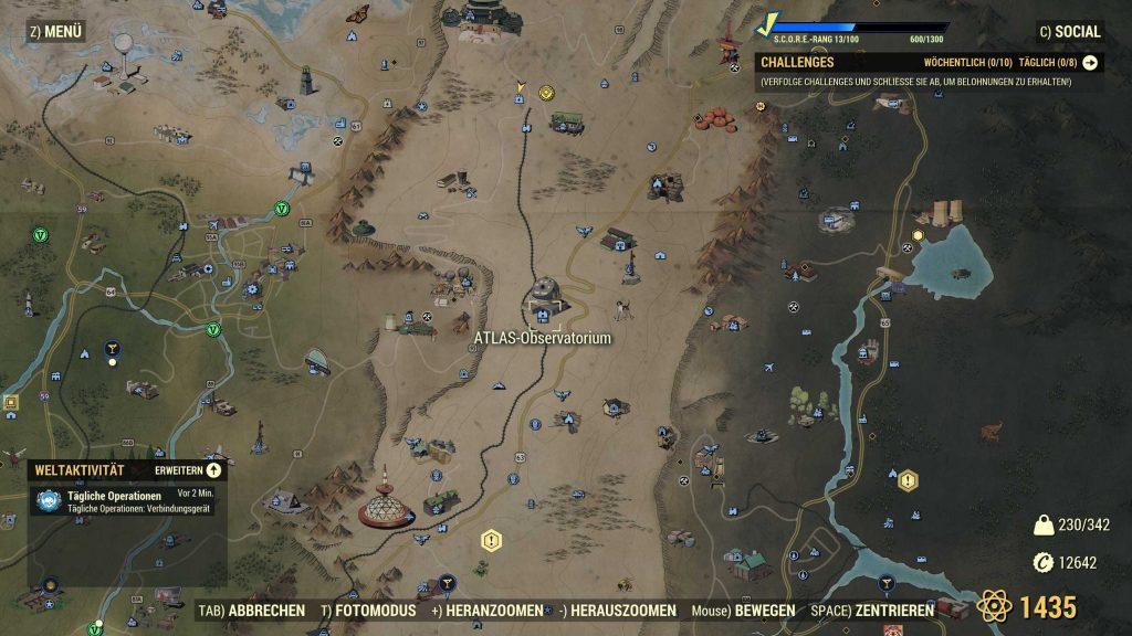 Fallout 76 Atlas Obervatorium