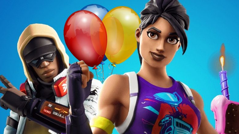 Fortnite Geburtstag Ballons Titel