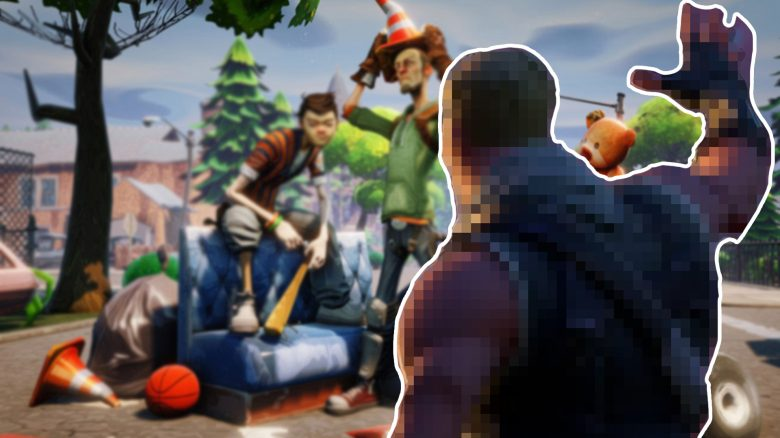 Fortnite Winken Abschied Titel Grafik