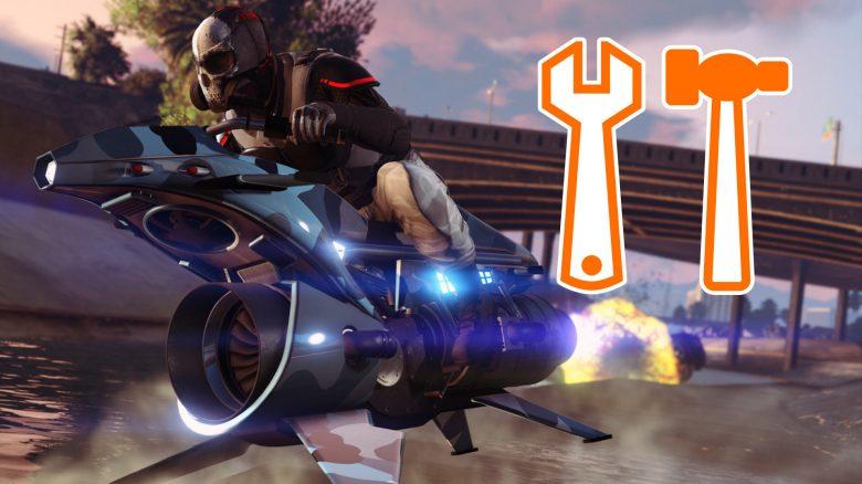 GTA Online Oppressor MK 2 Tunen Titel