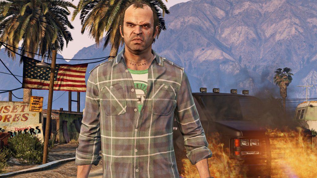 GTA Online Trevor Feuer Van Benzin Titel