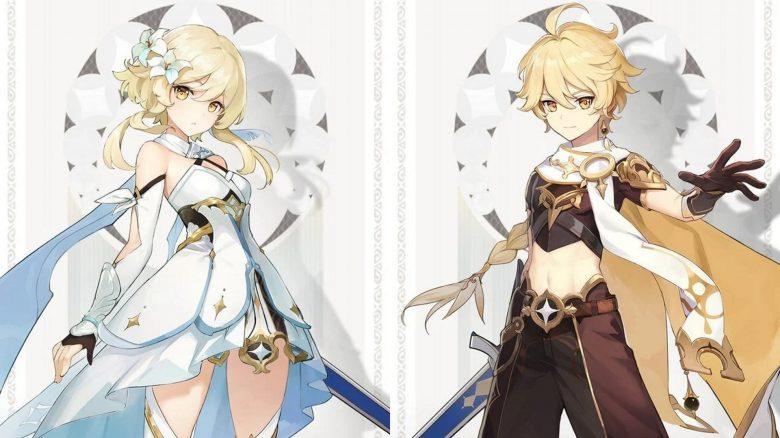 Genshin Impact Zwillinge Hauptcharaktere