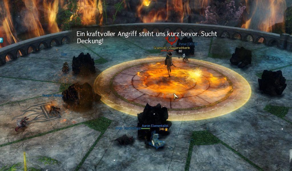 Guild Wars 2 Fraktal Meteor