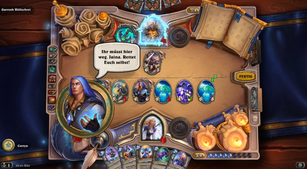Hearthstone Jaina Attack on Theramore