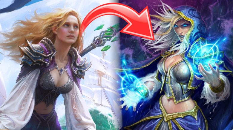 Hearthstone Jaina Transform titel title 1280x720