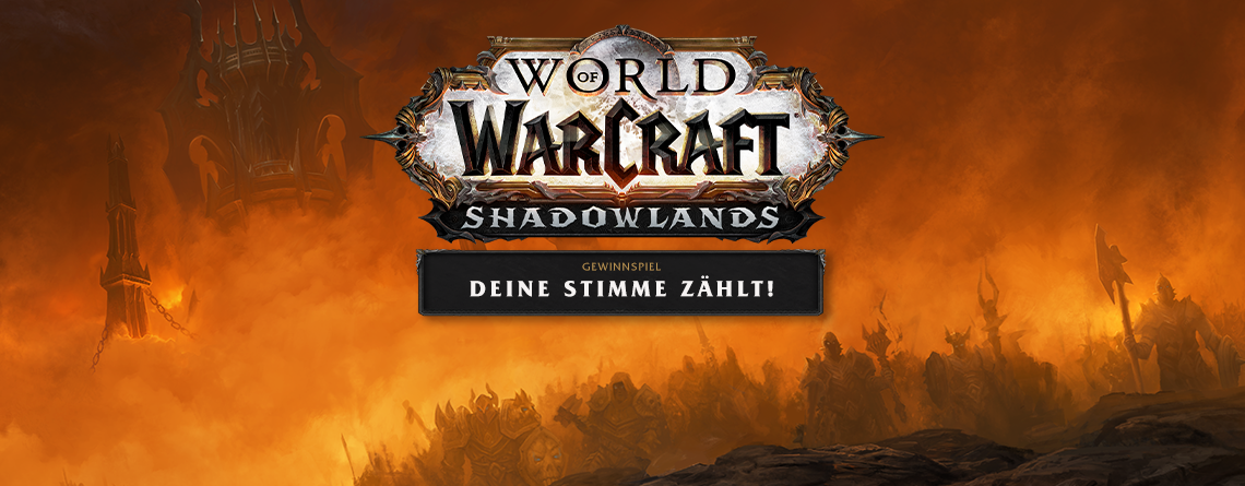 World of Warcraft: Shadowlands – Gewinnspiel