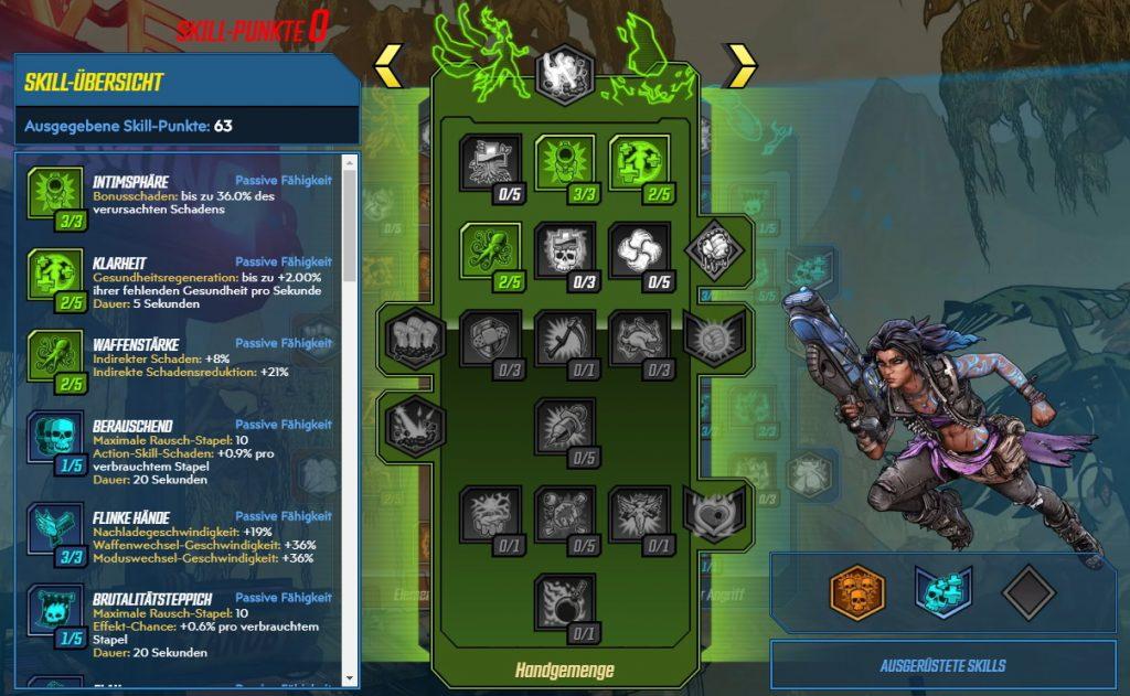 Borderlands 3 Level 65 Build Amara Handgemenge