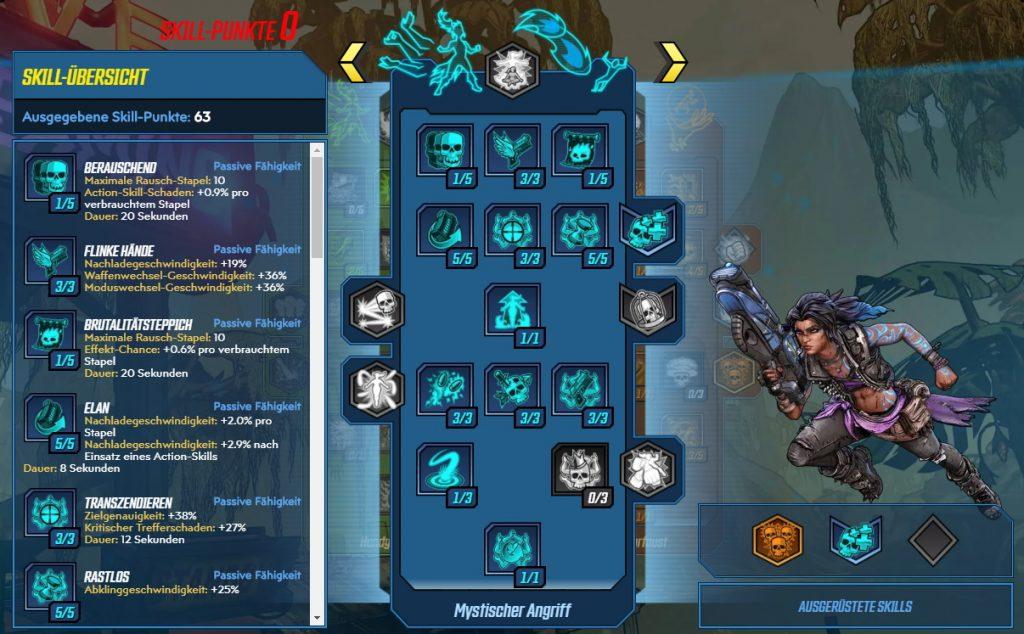 Borderlands 3 Level 65 Build Amara Mystischer Angriff
