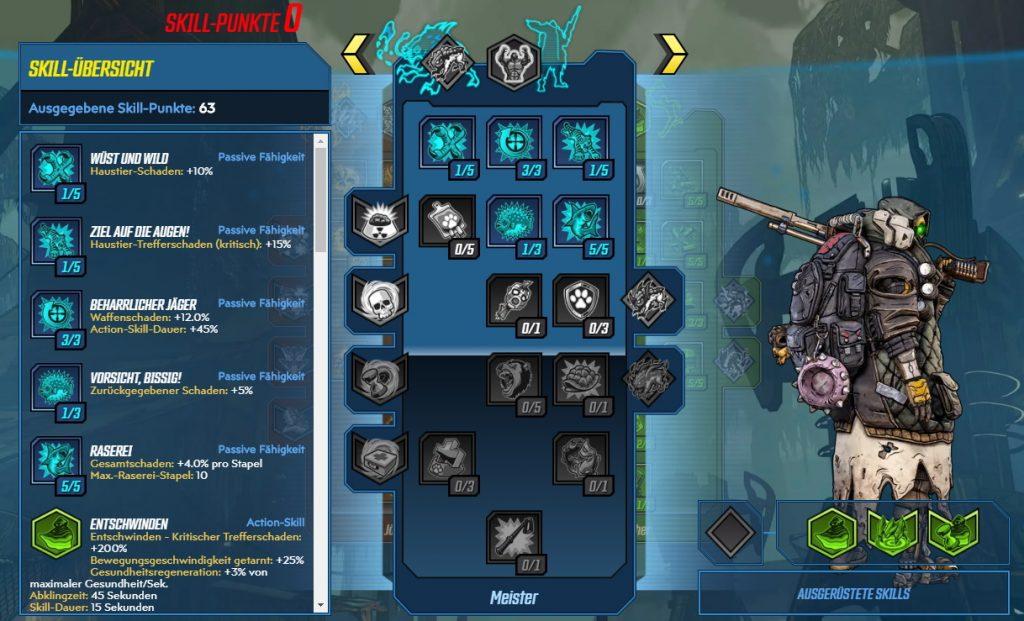 Borderlands 3 Level 65 Build FL4K Meister