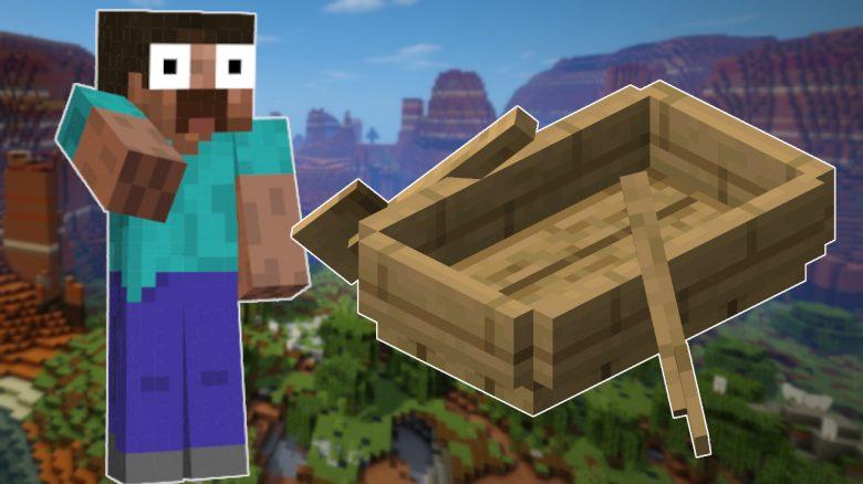 Minecraft Boat Char shocked titel title 1280x720