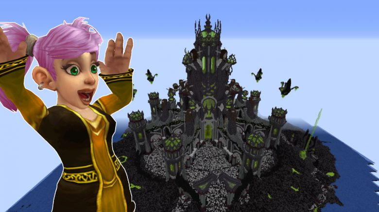 Minecraft Gnome Tomb of Sargeras cheer titel title 1280x720
