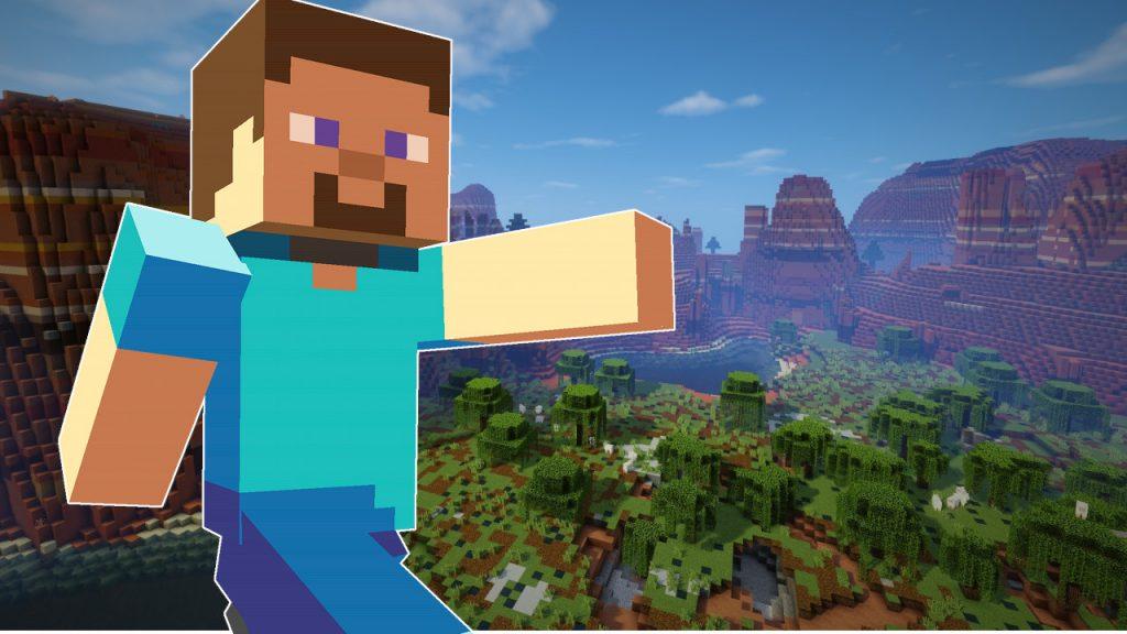 Minecraft Steve title titel 1280x720